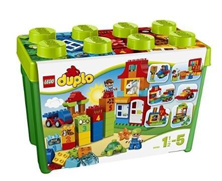 日亚有一波儿lego乐高积木最高额外9折促销 duplo得宝系列,好朋友系列